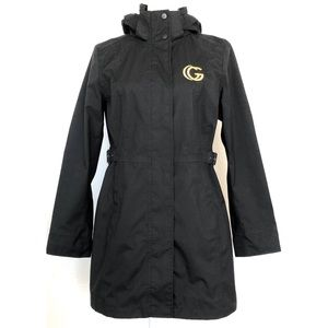 THE NORTH FACE Embroidered GUCCI Black Trench Coat